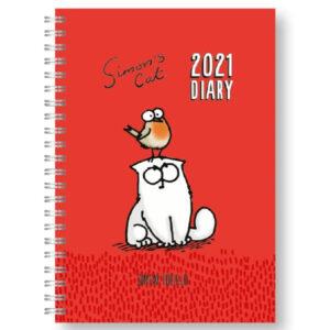 Agenda con gatto Simon's Cat 2021