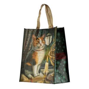 Borsa shopper gatto pezzato Lisa Parker