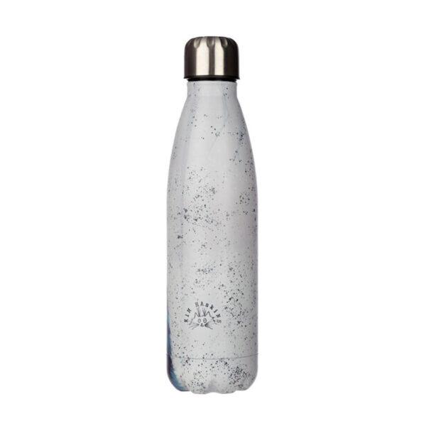 Bottiglia termica con gatto nero di Kim Haskins, retro