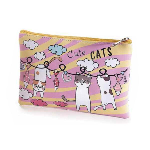 """Bustina morbida con gatti """"Cute cats"""""""