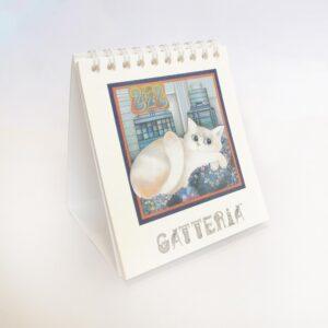 Calendario Gatteria 2022 da tavolo