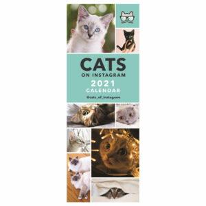 Calendario gatti Cats on Instagram 2021 spiralato
