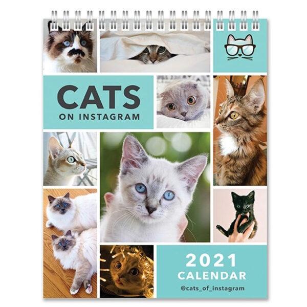 Calendario gatti Cats on Instagram 2021 da tavolo