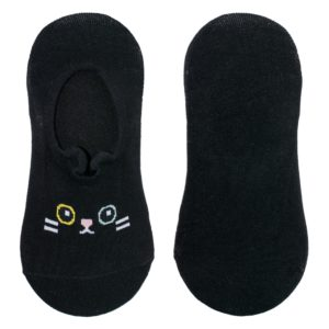 Calze fantasmini con gatto nero