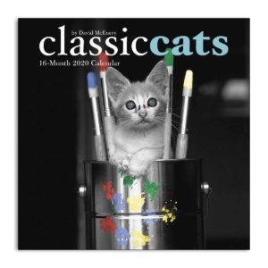 Fronte calendario classic cats 2020