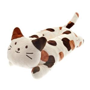 Cuccetta a forma di gatto pezzato, cucscino per gatti