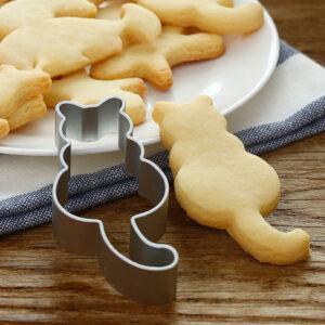 Formina per fare i biscotti a forma di gatto