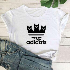 Maglietta t-shirt gatti Adicats