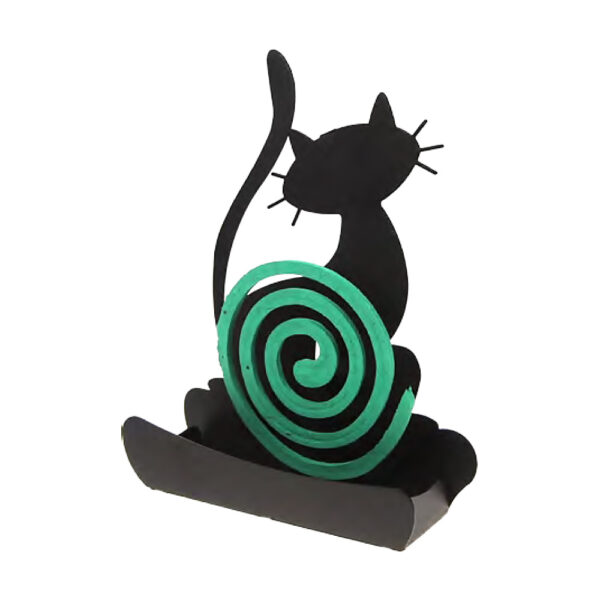 Porta zampirone silhouette di gatto