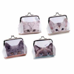 Portamonete a clip musetti di gattini