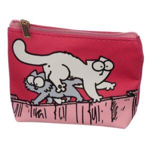 Portamonete con gatto di Simon's Cat, rosso