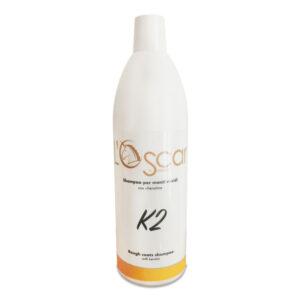 Shampoo per manti ruvidi K2 dell'Oscar di Smagatto