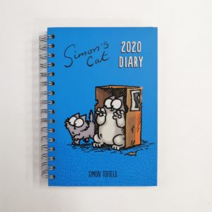 Fronte agenda simon's cat 2020