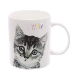 Tazza caffelatte con gattino Miao