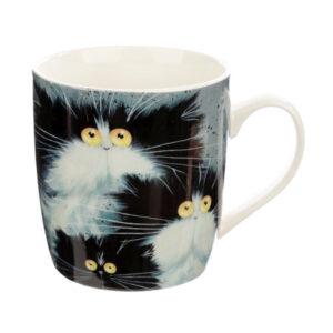 Tazza con gatti pazzi di Kim Haskins